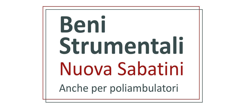 Contributi per i poliambulatori per investimenti digitali: Nuova Sabatini